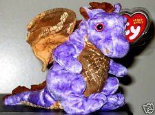 Ty Beanie Baby ~ LEGEND the Purple 2003 Dragon ~ MINT with MINT TAGS ~ RETIRED