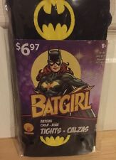 Batgirl Tights Child Small New Halloween Costume Cosplay Wb Dc