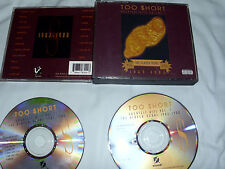 Too Short Greatest Hits Volume 1 The Player Years 1983-1988 2 cd set READ
