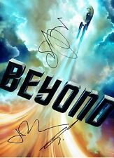 STAR TREK BEYOND Multi Signed 16X12 inch Photo (E) OnlineCOA