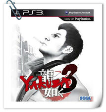 PS3 Yakuza Ryu ga Gotoku 3 SONY PlayStation Sega Action Adventure