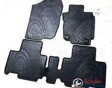RAV4 Rubber Floor Mats Front & Rear set of 4 New Genuine Toyota 2013-2016