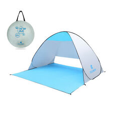 Waterproof Windproof Pop Up Camping Beach Shelter Canopy Outdoor UV Tent