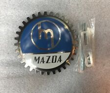 NEW Chrome Front Grill  Badge Mazda Logo.
