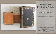 Neues Braunschweigisches Gesangbuch, nebst kurzem Gebetbuch 1849 -Christentum xz