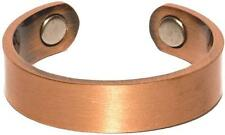 PURE COPPER MAGNETIC STYLE # P RING jewelry health magnet pain relief new smooth