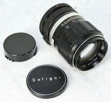 Vintage SOLIGOR Tele-Auto Lens. 135mm 2.8f for Canon FD Mount RARE