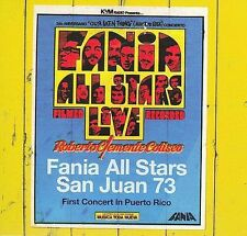 FANIA Salsa RARE CD REMASTERED Limited Edition FANIA ALL STARS LIVE SAN JUAN 73