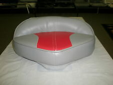 WISE BOAT SEAT PRO  BUTT PEDESTAL SEAT GRAY AND RED 7502-502