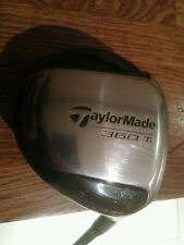 TAYLORMADE R350 Ti, 9.5 degree Driver, R80 bubble shaft