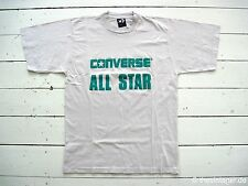NOS 90er Converse All Star Classic T-shirt Cons Vintage Festival Chucks S NUOVO