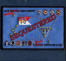CVN-76 USS RONALD REAGAN CONUS 2013 US NAVY Ship Squadron Cruise Jacket Patch