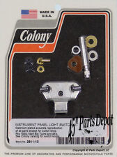 Harley 45 Model & BT 39-46 Panel Light Switch Kit Cadmium Plated Colony 2811-13