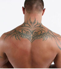 Super Large Totem Tattoos Similar Randy Orton Back Tattoo - Temporary Tattoo Men