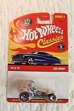 ~ Hot Wheels Classics Series 4 Red Baron Silver Variation # 8/15 MINT CONDITION