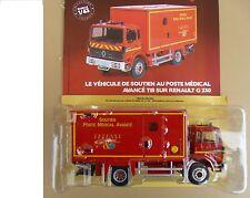 n° 56 RENAULT G 230 Camion Pompiers Soutien Poste Médical Avancé TIB  1/43 Neuf