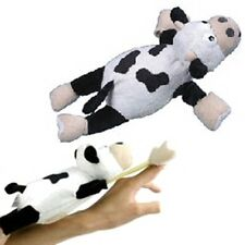 Flingshot Slingshot FLYING Screaming Plush COW Funny DOG Toy with Sound
