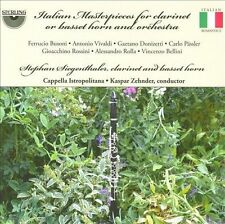 Italian Masterpieces for Clarinet Or Basset Horn, New Music