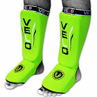 VELO Shin Instep Pads MMA Leg Foot Guards Muay Thai Kick Boxing Guard Protectors