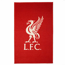 Liverpool FC Official Football Gift Crest Mat Rug Red