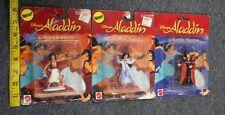 ALADDIN Collectible Figures Princess Jasmine Jafar Lago Abu DISNEY MATTEL New