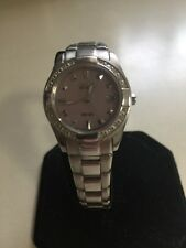 Citizen Eco-Drive Ladies Watch Used WR-100 Stainless - Eco Drive Watches