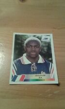 N°163 IBRAHIM BA # FRANCE PANINI FRANCE 98 WORLD CUP ORIGINAL 1998