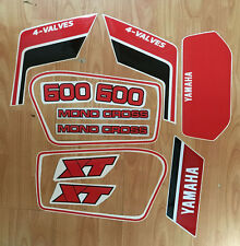 Yamaha XT 600 1986 - adesivi/adhesives/stickers/decal
