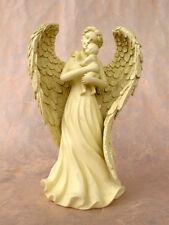 ángel con bebé Figura Bautizo Nacimiento ángel de la guarda Decoración de lápida