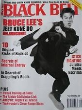 RARE 9/06 BLACK BELT MAGAZINE BRUCE LEE JEET KUNE DO KARATE KUNG FU MARTIAL ARTS