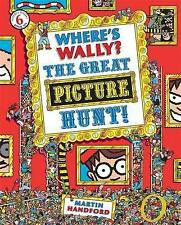 Where's Wally?: The Great Picture Hunt! Martin Handford (Paperback, 2016)NEW