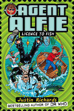 Justin Richards Agent Alfie (3) - Licence to Fish Very Good Book