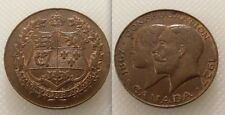 Collectable CANADA  - Confederation Bronze Commenorates 60 Years Token / Coin