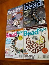 Beads crafts Fun Gift ideas Make today Beadstyle Jewelry 4 back issues magazines