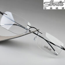 Silhouette Ultra-Light Titanium Rimless Glasses Eyeglasses Frame Spindly leg7714