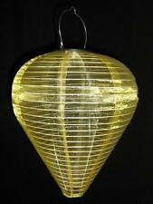 Lampion001 - Solar Laterne - Solar Lampion - Laternen - Tropfenform gold 01