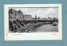Thames Embankment HTL Hold to Light unused old pc WH Berlin