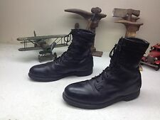 VINTAGE 1989 MADE IN USA COVE STEEL TOE  MOTORCYCLE MILITARY ENGINEER BOOTS 10.5