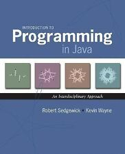 Introduction to Programming in Java : An Interdisciplinary Approach Int'l Ed