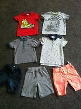 Boys Shorts Tshirt Polo Shirt 2-3 Years Next Cherokee H&M M&S Bundle Outfit