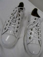 CONVERSE All Stars   Low -rise white leather UK 7 /Eur 40      202 W