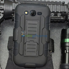 Rugged Hybrid Case Cover Holster For Samsung Galaxy Grand Duos i9082 Neo Plus