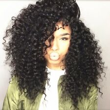 8A 400g/4bundles Unprocessed Peruvian Deep Wave Curly Human Hair 12,14,16,16