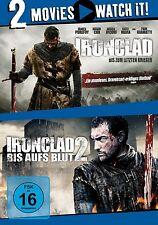 IRONCLAD - BIS ZUM LETZTEN KRIEGER/IRONCLAD 2 - BIS AUFS BLUT 2 DVD NEU