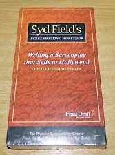 Syd Field's Screenwriting Workshop (VHS 2000) BRAND NEW & SEALED - VERY RARE!