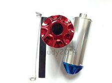 CNC End Dirt Pit Bike Alloy Muffler Exhaust With 28mm Connection Apollo 125cc