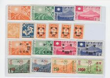 *CHINA - NANKING & SHANGHAI - SG 114-117:118-119:120-123:128-131- MNH- VERY FINE