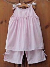 Strasburg Bella Luna Morningwear 8Y 8 9 HTF Pink Classic Portrait Capri Set HTF!