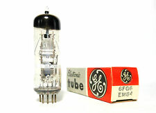 EM84 6FG6 Telefunken Germany Magic Eye Tuning Tube NOS NIB Re-Branded GE