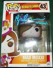 Brina Palencia Signed Mad Moxxi Borderlands Funko Pop Figure Auto